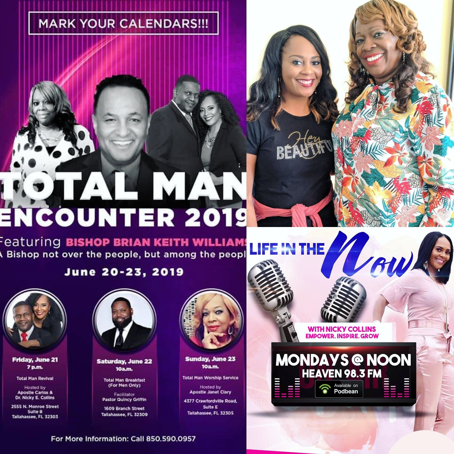 Life In The Now Podcast: Total Man Encounter 2019