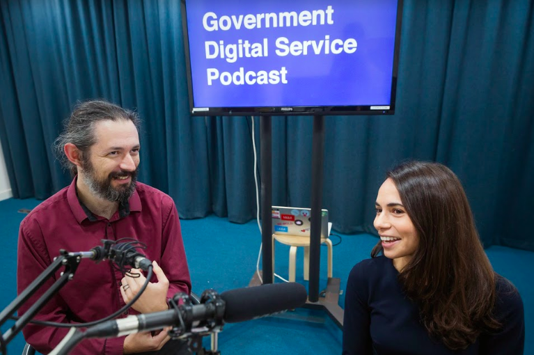 Government Digital Service Podcast Episode #2 An interview with Terence Eden