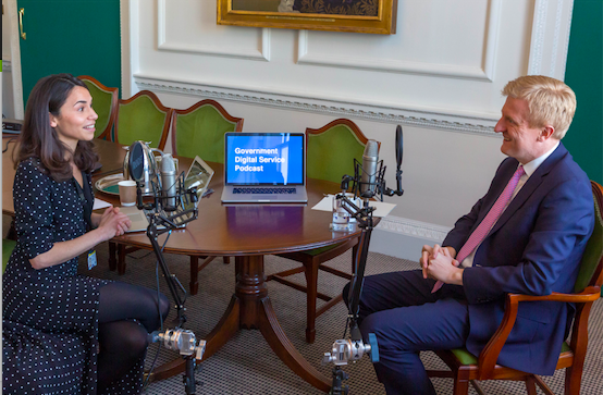 Government Digital Service Podcast Episode #6 - an interview with Oliver Dowden, Minister for Implementation