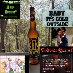 Baby It's Cold Outside - Goose Island 312 Urban Wheat Ale - Christmas Quiz #2