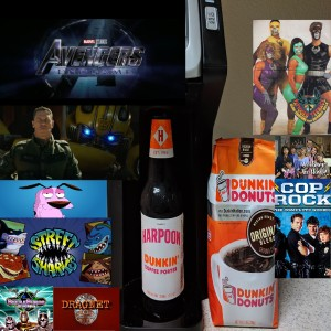 90's TV Shows Commercial Reacts - Avengers Trailer React - Harpoon Dunkin Coffee Porter