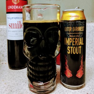 Outer Darkness Imperial Stout - ASMR and Pre-School and Garden Books