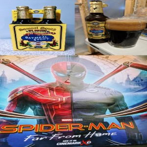 Spider Man Far From Home Review - Samuel Smith Oatmeal Stout