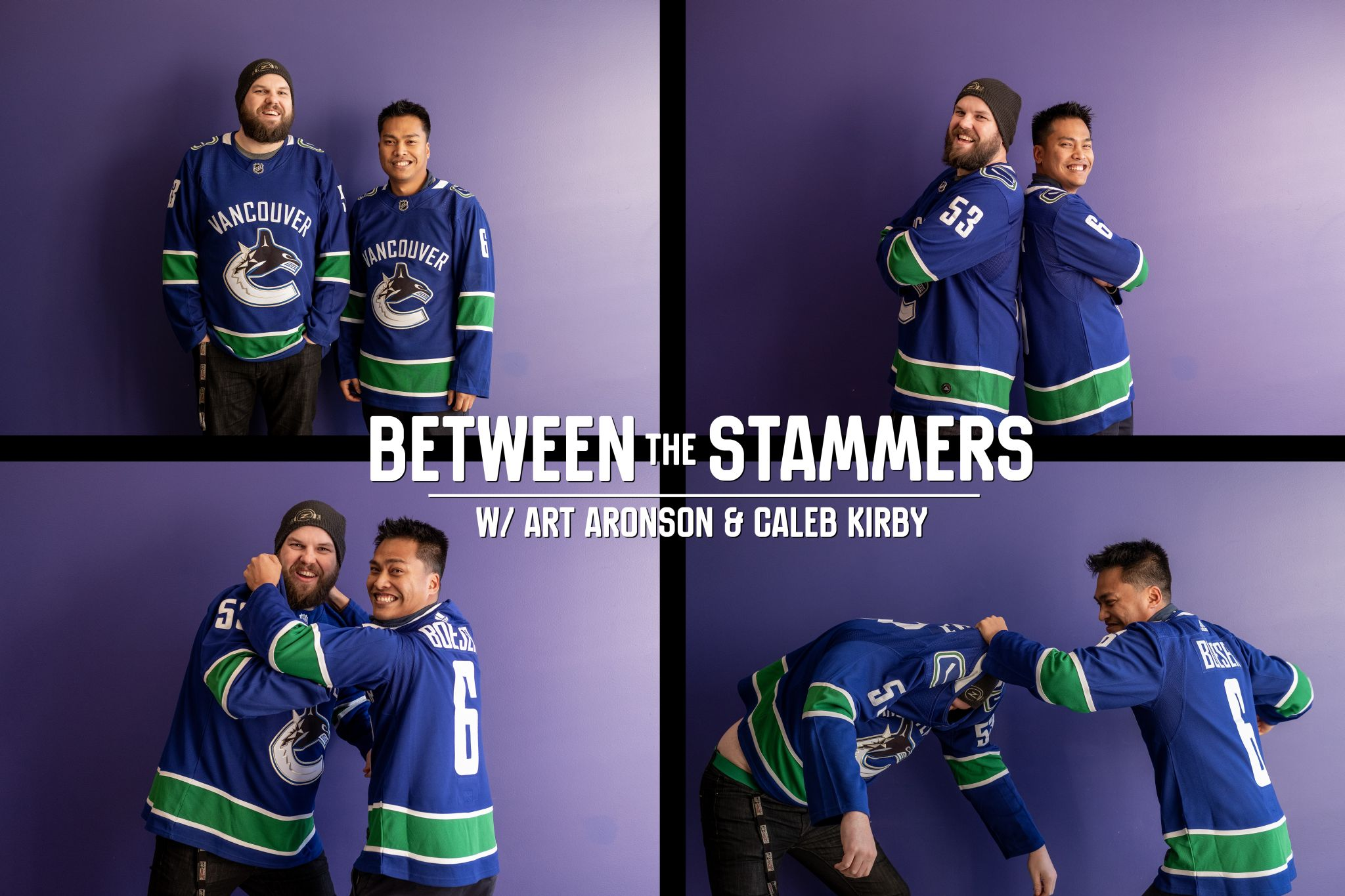 Between The Stammers (Canucks Cast) Ep 30 April 17/19