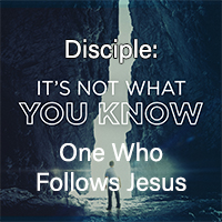 One Who Follows Jesus