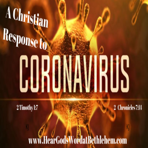 A Christian Response to the Coronavirus