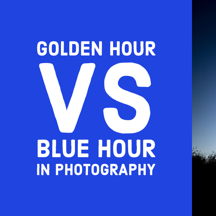 The Difference Between Golden Hour & Blue Hour In Photography