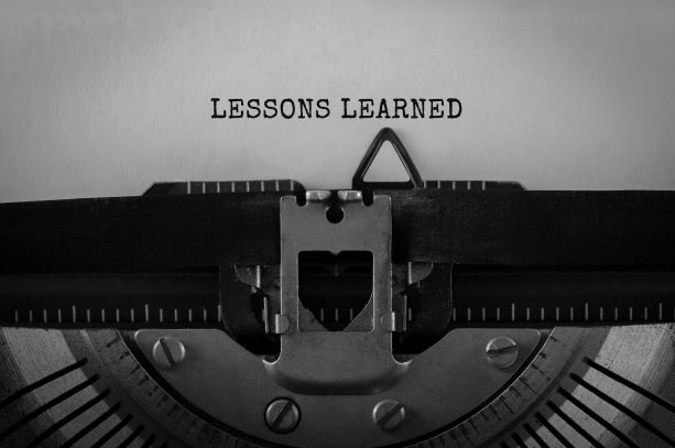 Lessons Learned 2008 to 2020