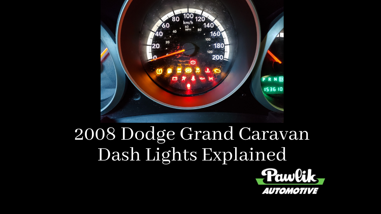 2008 Dodge Grand Caravan Dash Lights Explained
