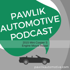 2015 Mini Cooper S  Engine Mount Repair