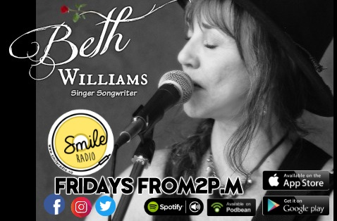 The Beth Williams Indie Singer/Songwriter Show - 31.05.2019