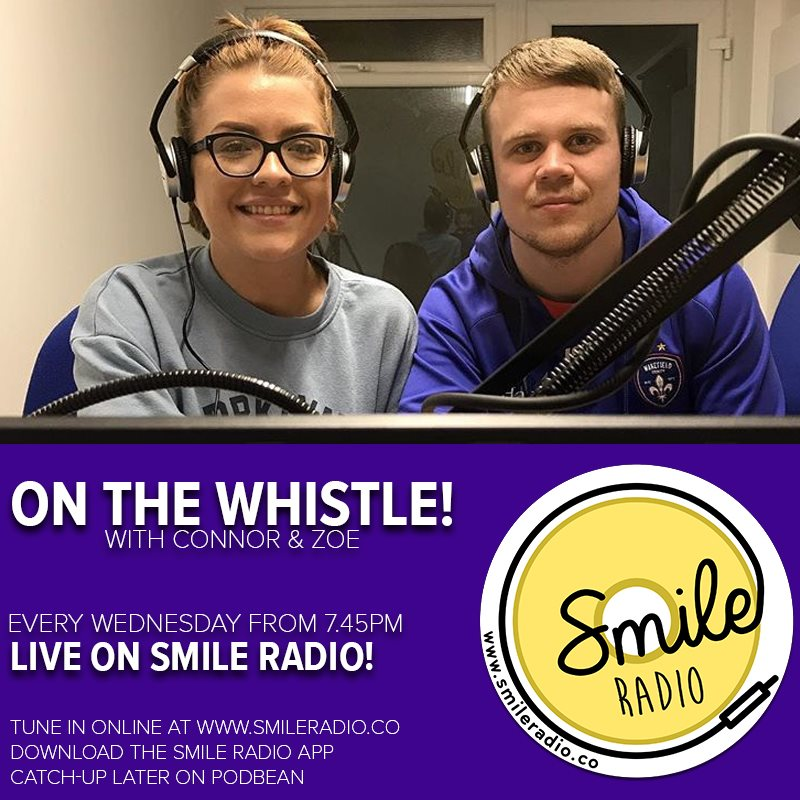 On the Whistle With Connor & Zoe - 19.06.2019