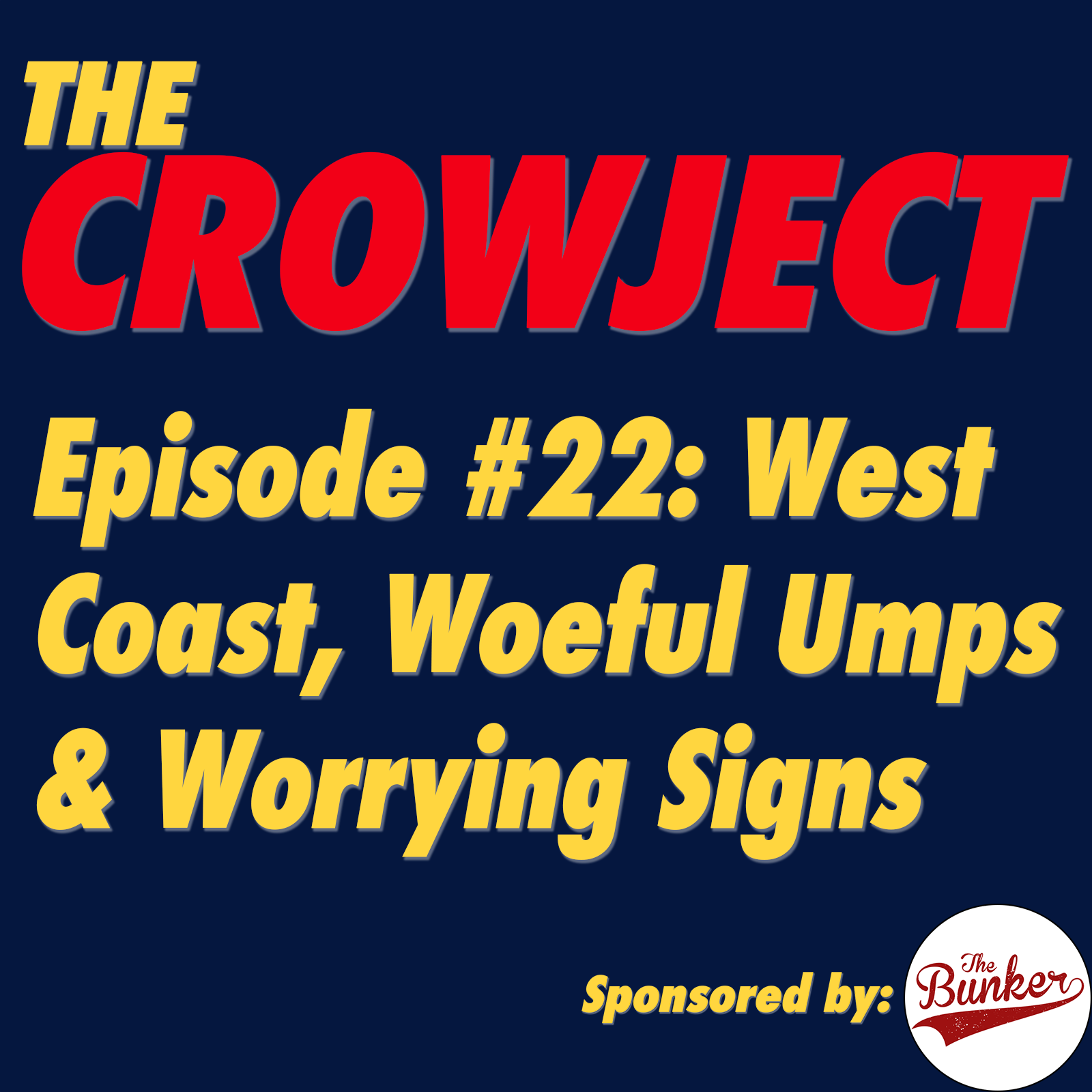 West Coast, Woeful Umps & Worrying Signs