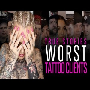 WORST TATTOO CLIENTS EVER⚡True stories - Tattoo artists worst client experiences