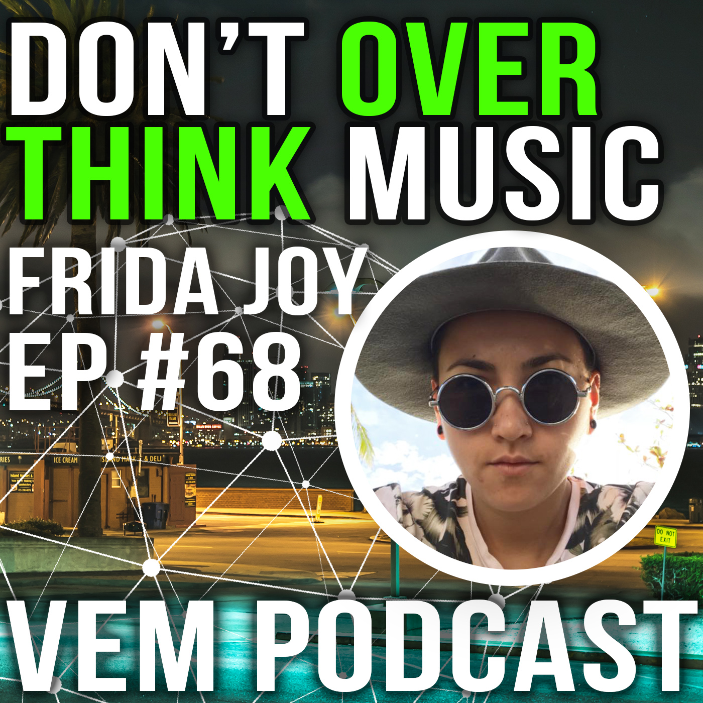 Voice of Electronic Music #68 - Don't Over Think Music - Frida Joy (DMT LBL)