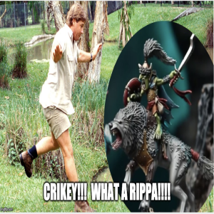 Episode 22: Crikey! What a Rippa!  with Davy Calkins