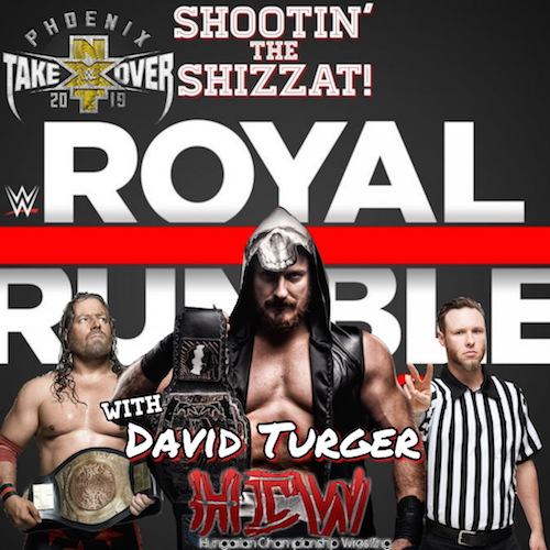 Rumble + TakeOver with David Turger of HCW!!
