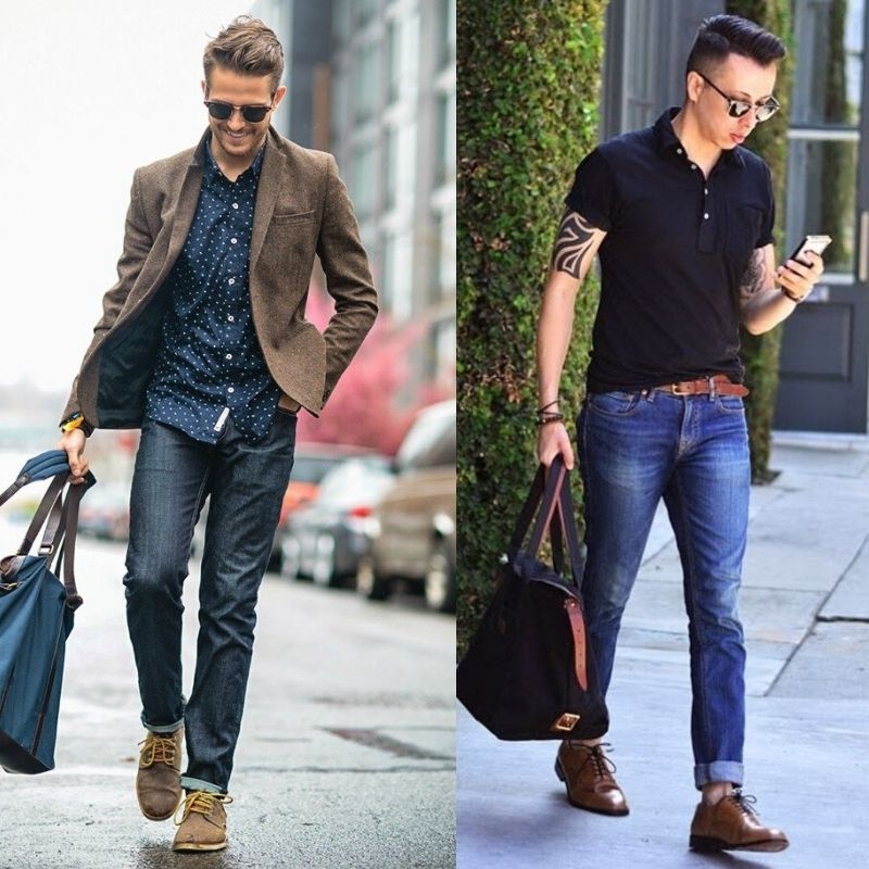 best shoes to wear with jeans mens