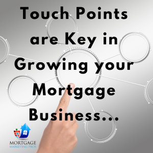 Ep #9: Learn Some Touch Points to Grow your Mortgage Business.