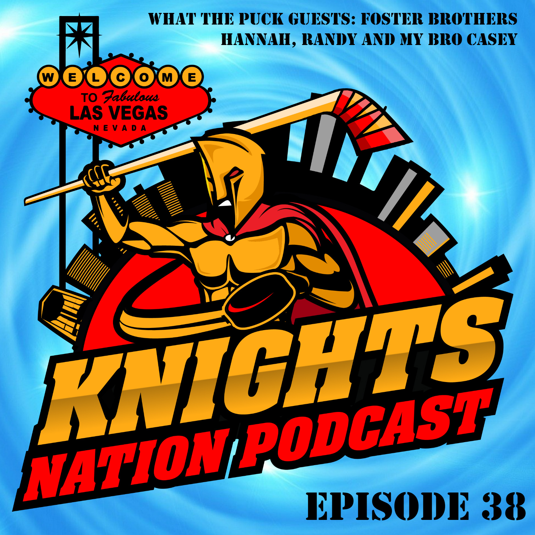 Episode 38: Year two complete. The Vegas Golden Knights are going back to the Stanley Cup Playoffs.