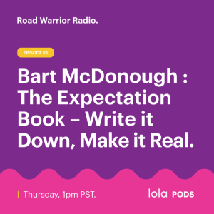 Bart McDonough: The Expectation Book - Write it down, make it real