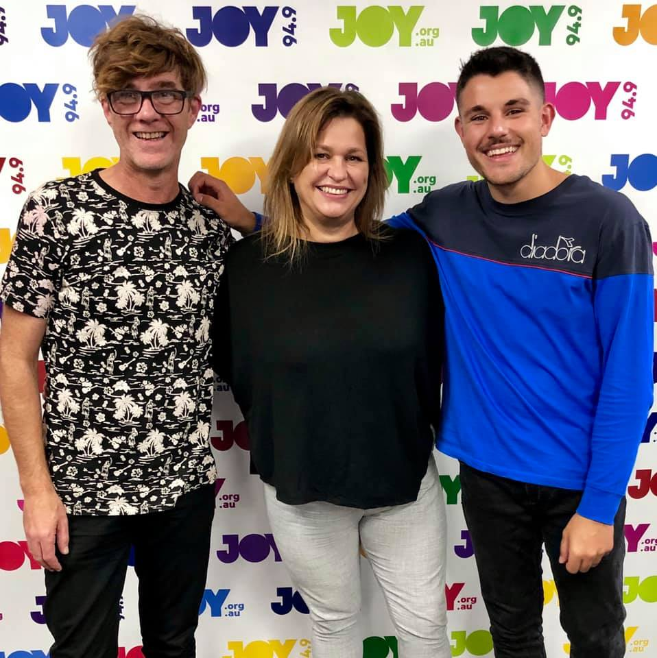 Phoebe with Mikey and Tom Thursday Morning on Joy 94.9