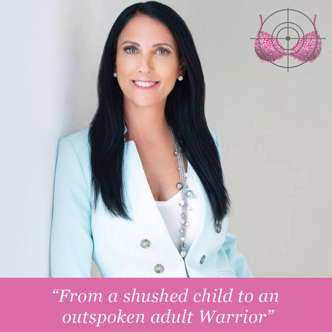 """Episode 2:  Exclusive Interview with childhood trauma survivor Sandra Doweck """"From a shushed child to an outspoken adult Warrior"""""""