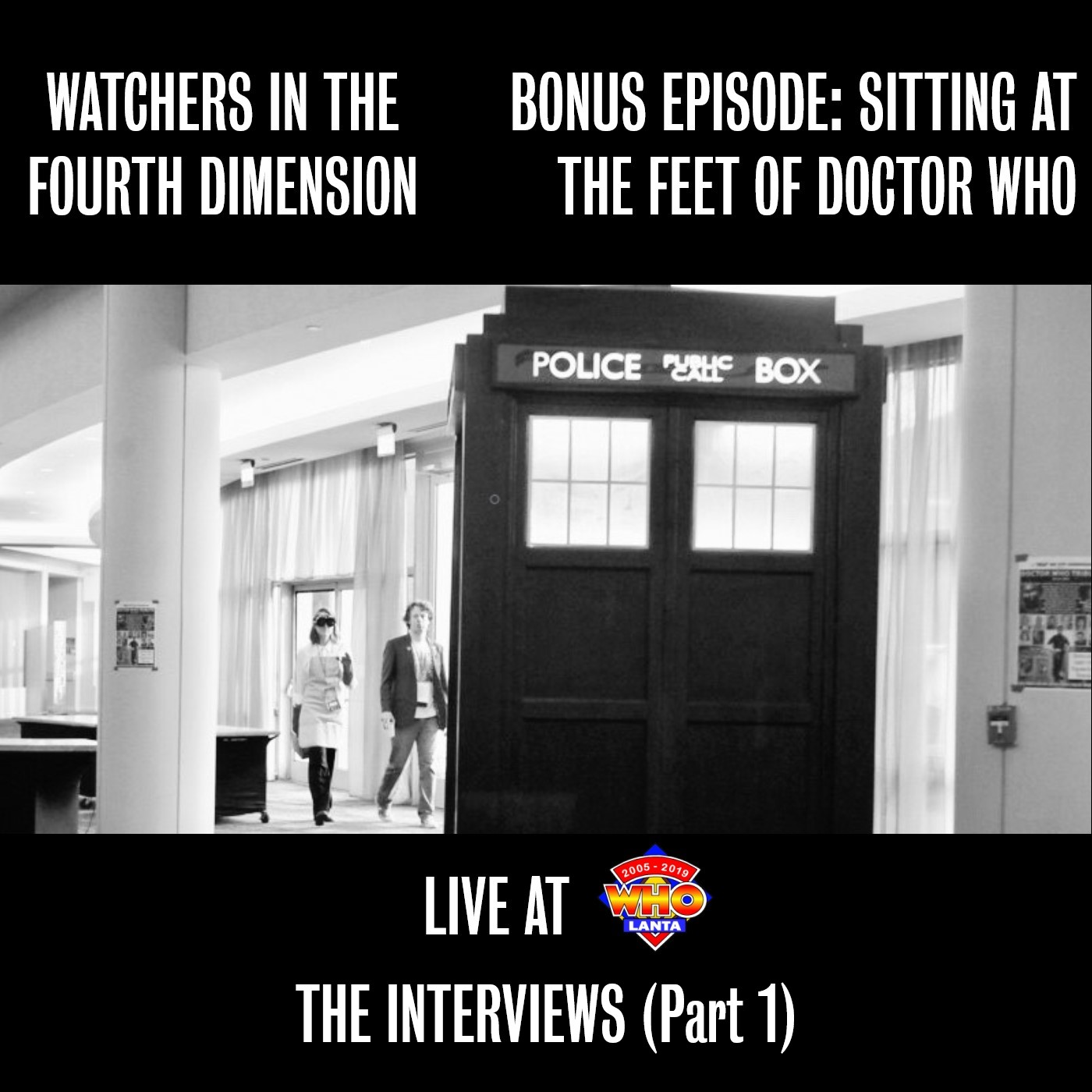 Bonus Episode: Sitting at the Feet of Doctor Who - Live at WHOlanta 2019