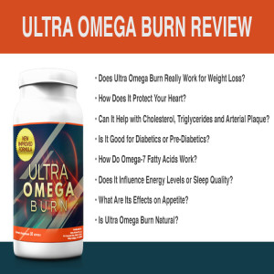 Ultra Omega Burn - Help In Burning Calories For Weight Loss