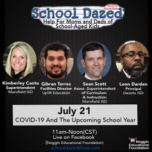 The One About COVID-19 and the Upcoming School Year