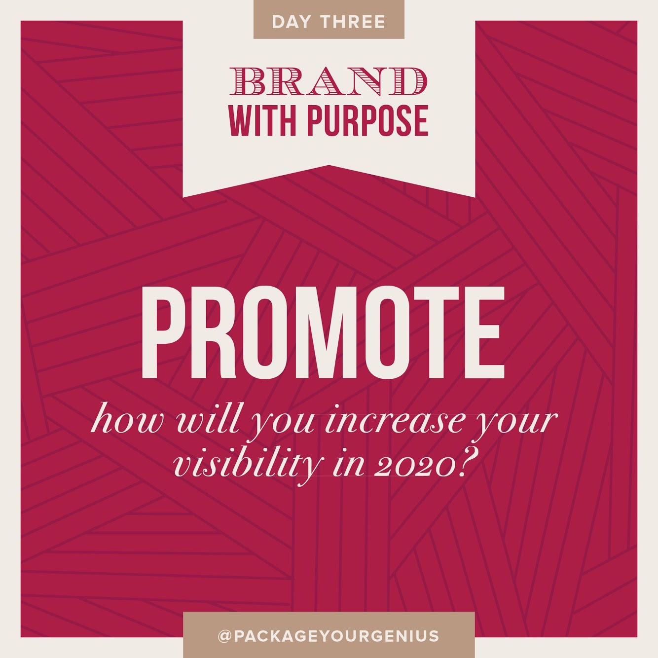 PYG 142: What's your plan to increase your visibility?