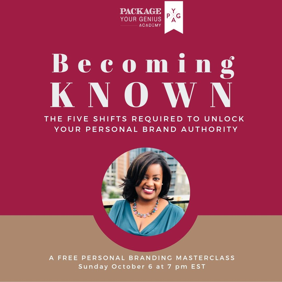 PYG 137: Becoming KNOWN - The 5 Essential Shifts to Unlock Your Personal Brand Authority