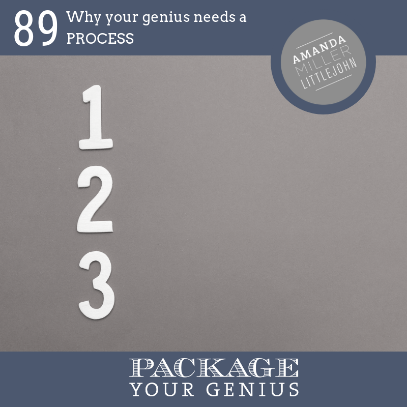 PYG 89: Why your genius needs a process