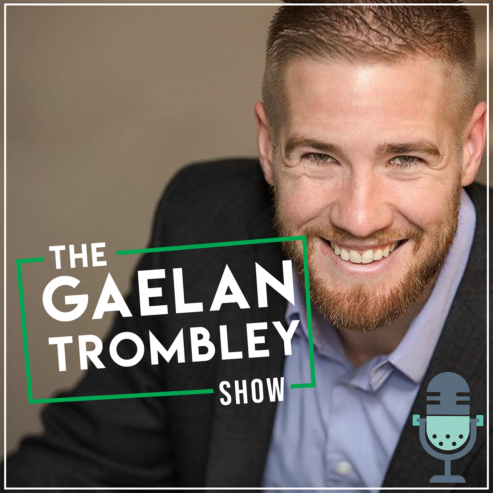 Talk Show Office Interior Design: The Gaelan Trombley Show