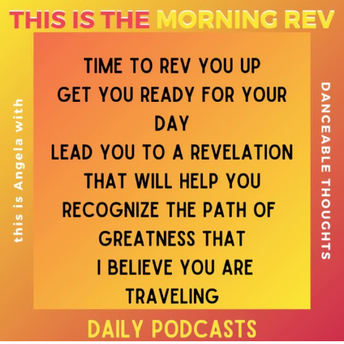 Morning Rev: I see you