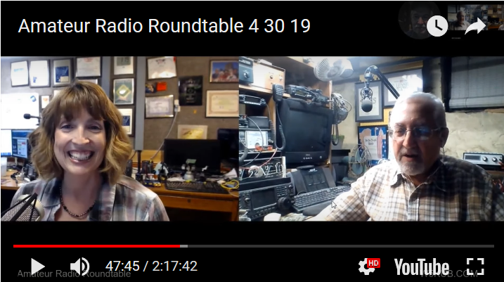 Amateur Radio Roundtable April 30, 2019