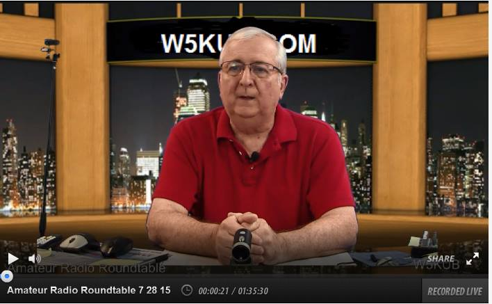 Amateur Radio Roundtable week update June 8 2019