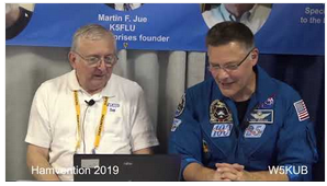 Astronaut Doug Wheelock interview hamvention 2019