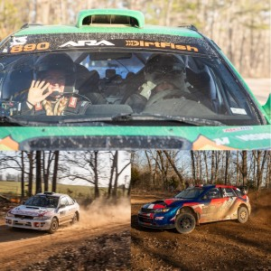 RallyCast Episode 101 -Rally in the 100 Acre Wood Part 3 with Ryan and Rachel Rethy, Katie Gingras, and Arek Bialobrzeski