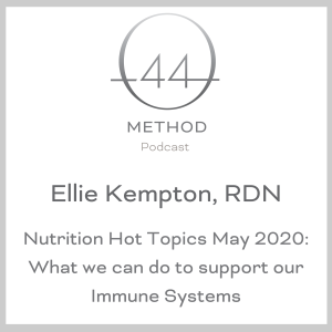 Ellie Kempton, RDN: Nutrition Hot Topics May 2020: What we can do to support our Immune Systems