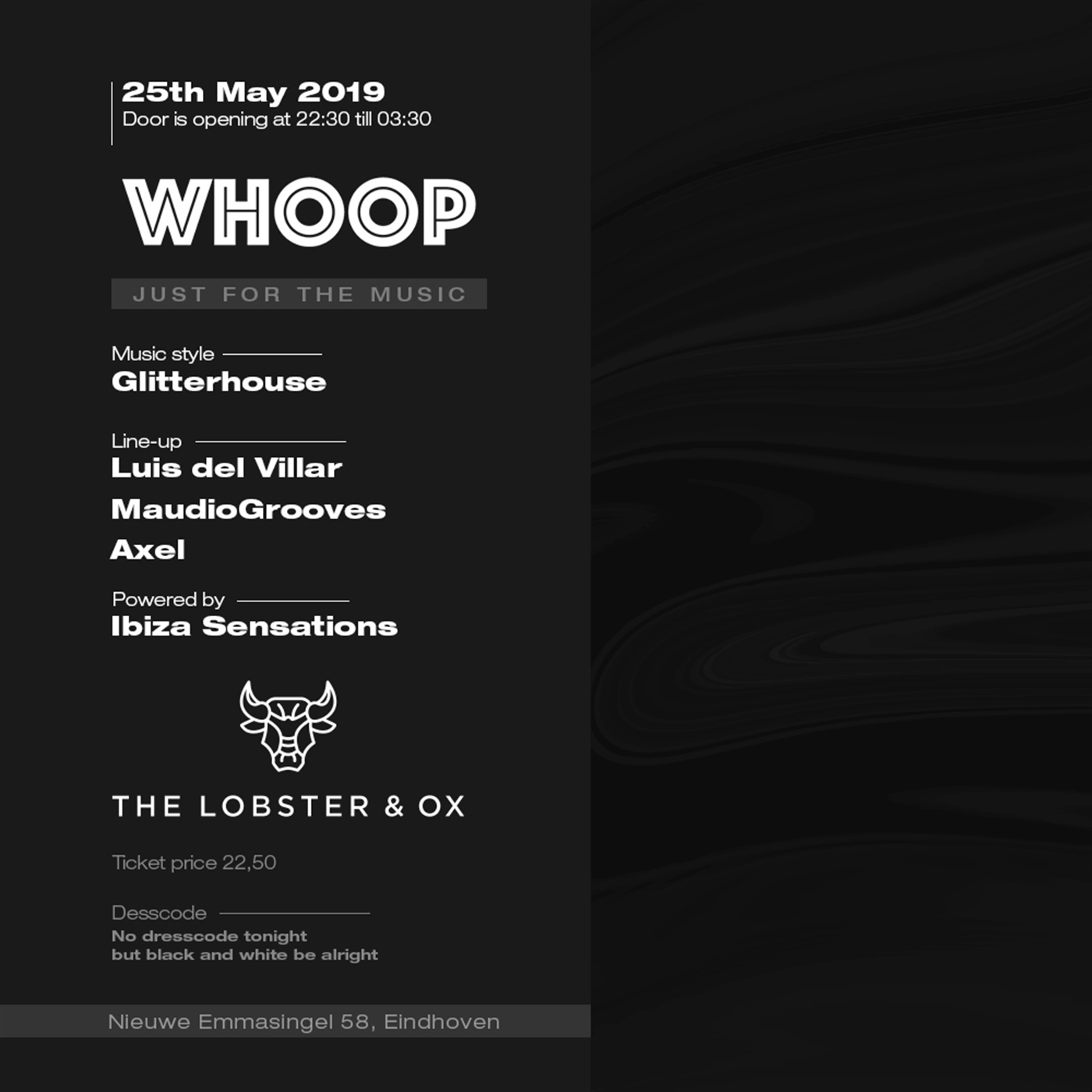 Ibiza Sensations 215 @ Lobster & Ox, Eindhoven 25th May