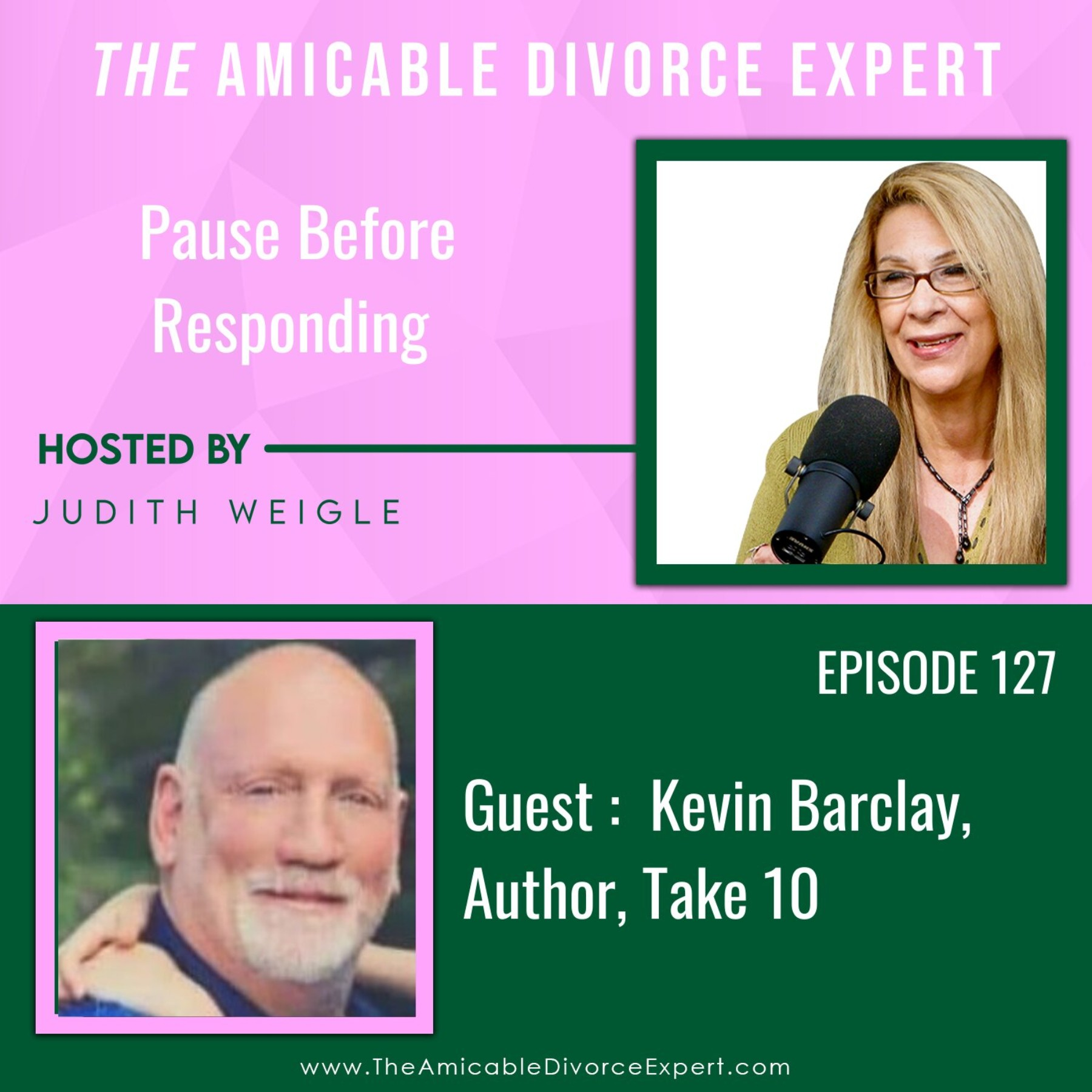 Pause Before Responding with Take 10 author Kevin Barclay
