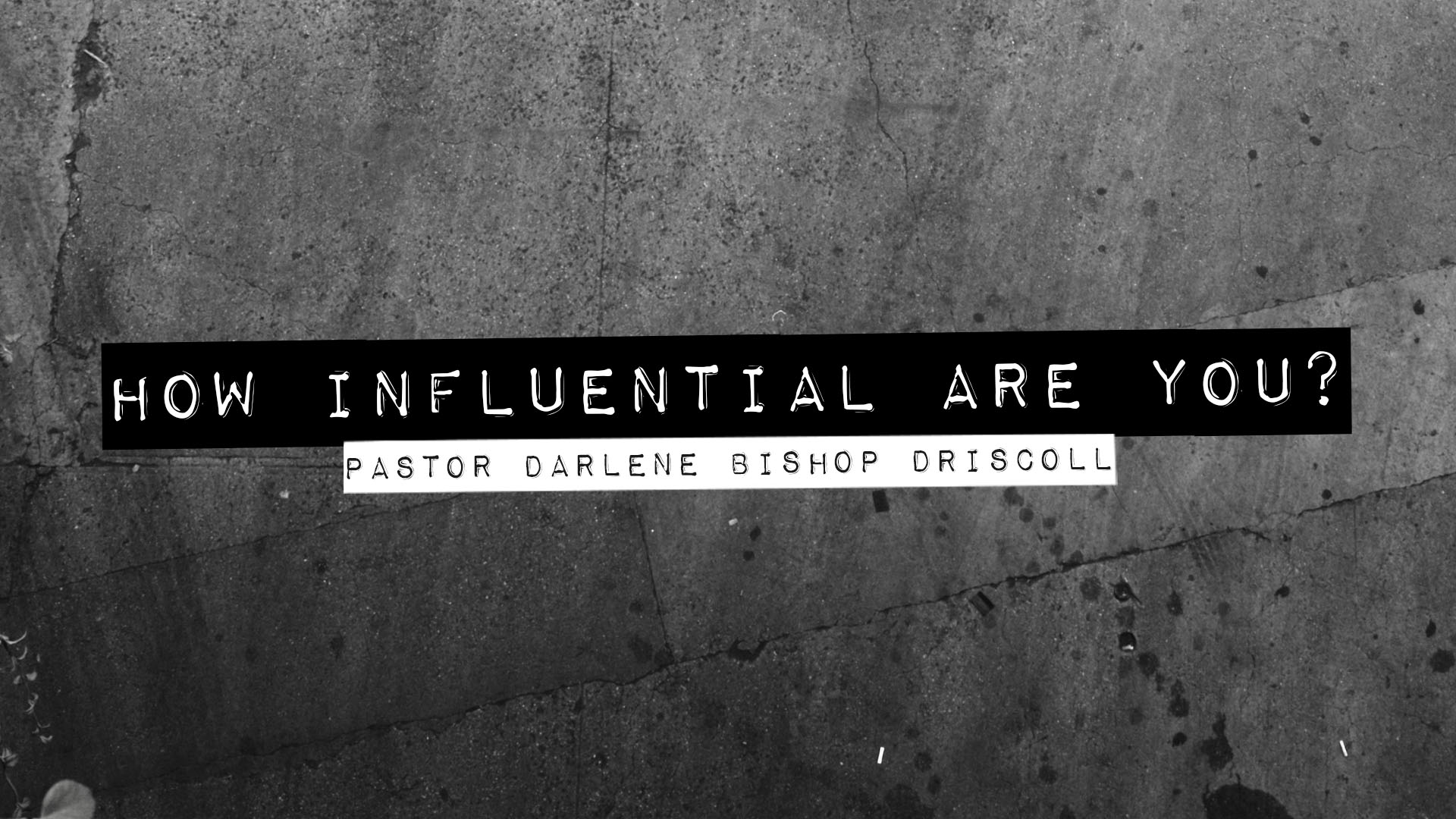 SRC 3-10-19 DBD How Influential Are You