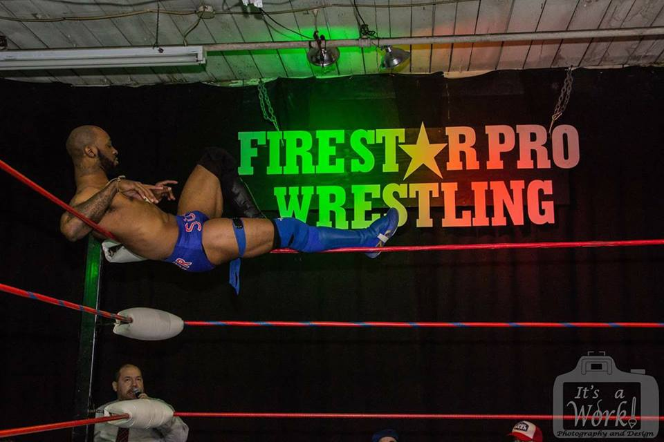 Cam Carter from Fire Star Pro Wrestling | Friday Evening's Undercard