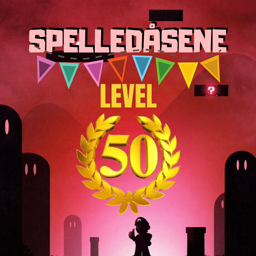Spelledåsene - Jubileum - Level 50