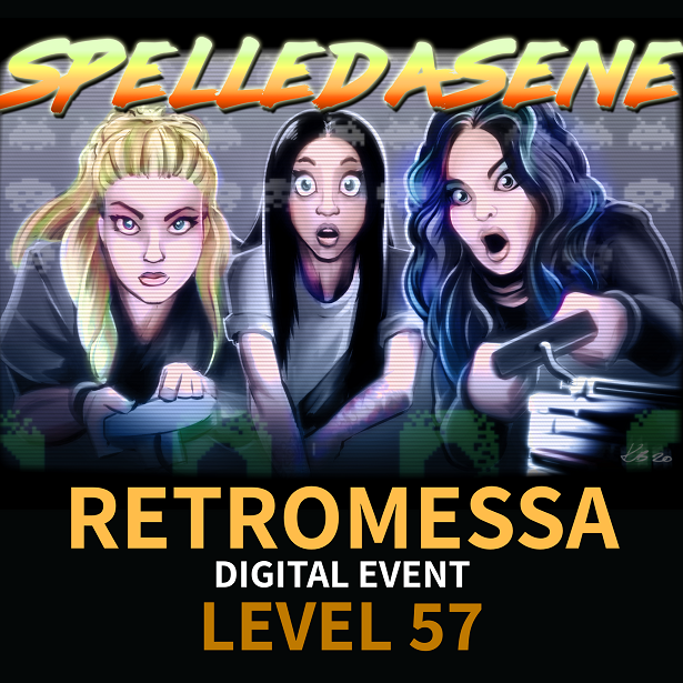 Spelledåsene - Retromessa Digital Event - Level 57