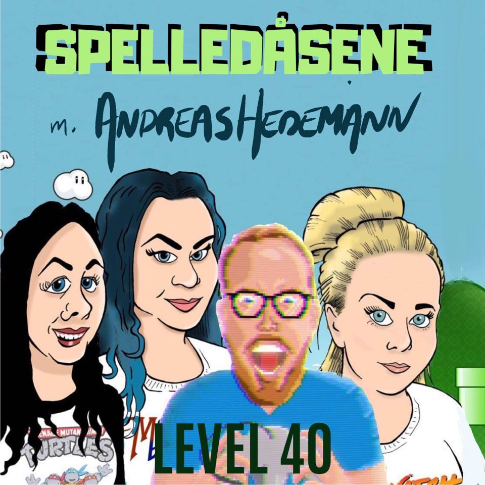 Spelledåsene - Andreas Hedemann - Level 40