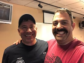 """Episode 1 """"Cancer"""" fighting for your life with PFD fire Captain Bill Rini,"""