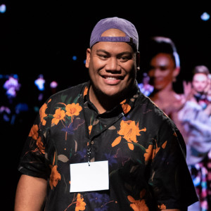 Afa Ah Loo, here for the Pacific Fusion Fashion Show