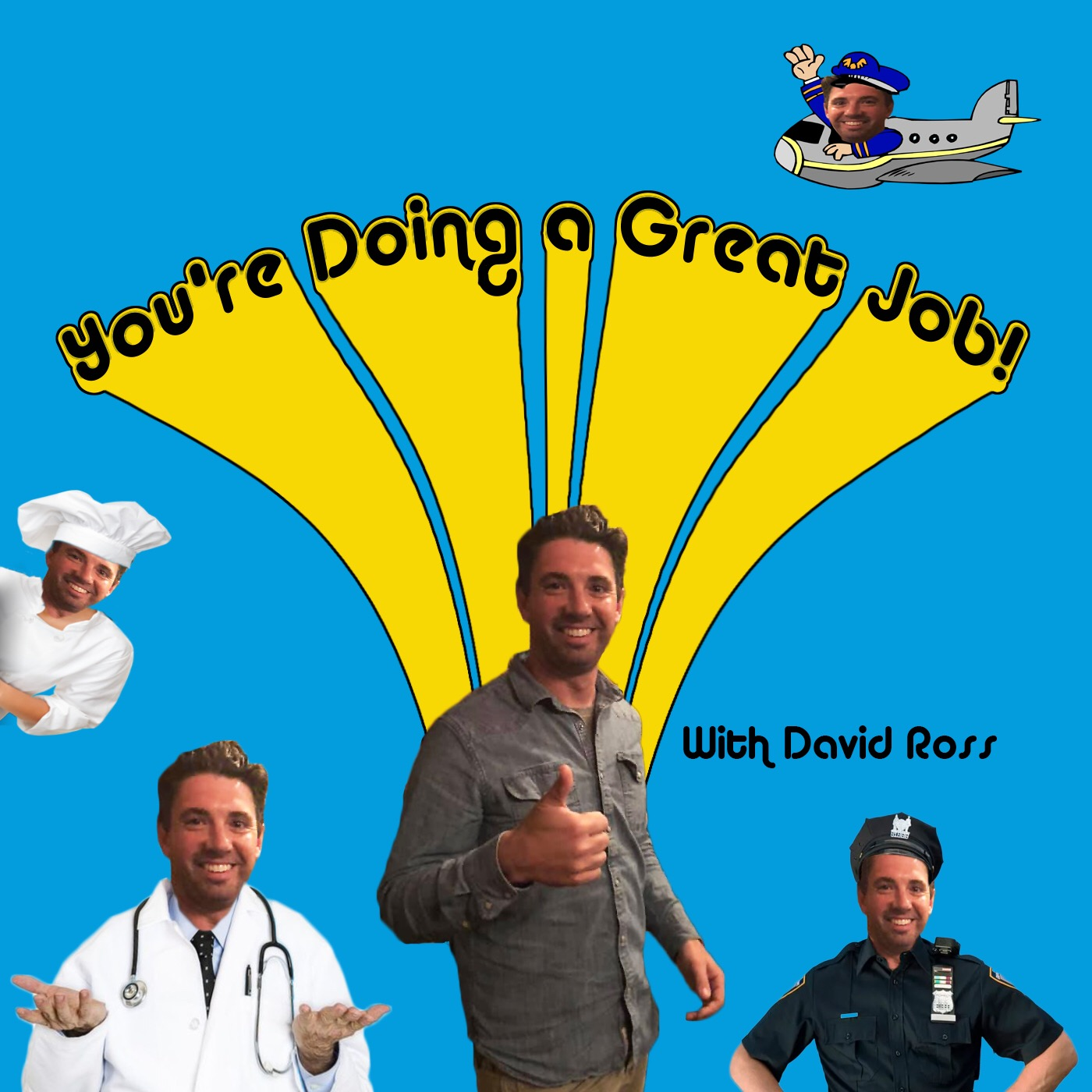 #32 You're Doing A Great Job Podcast Live Nancy Stanly